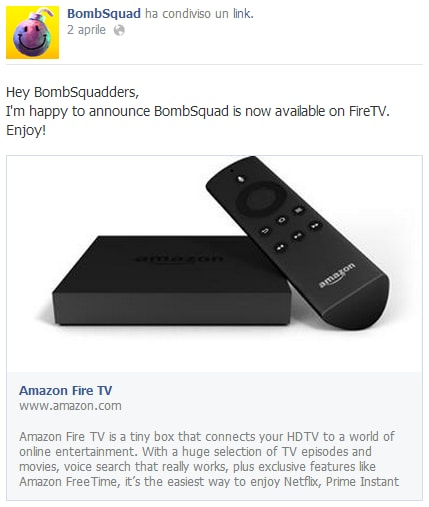 Bombsquad amazon fire tv