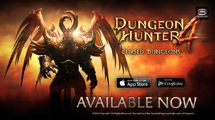 Dungeon Hunter 4 Update