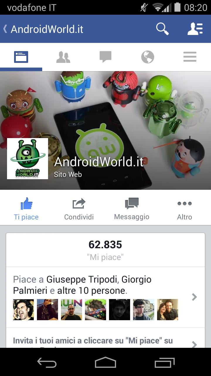 Facebook nuova UI