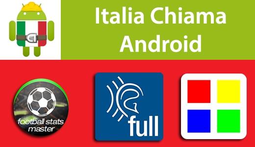Italia Chiama Android: Football Stats Master, APM Tool, Sqquares