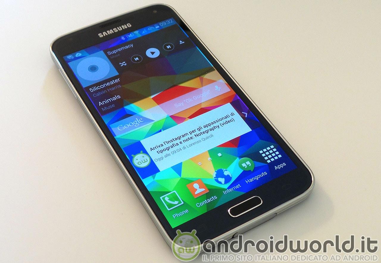 """""""Ok Google"""" funziona anche con Galaxy S5, ma solo in inglese"""
