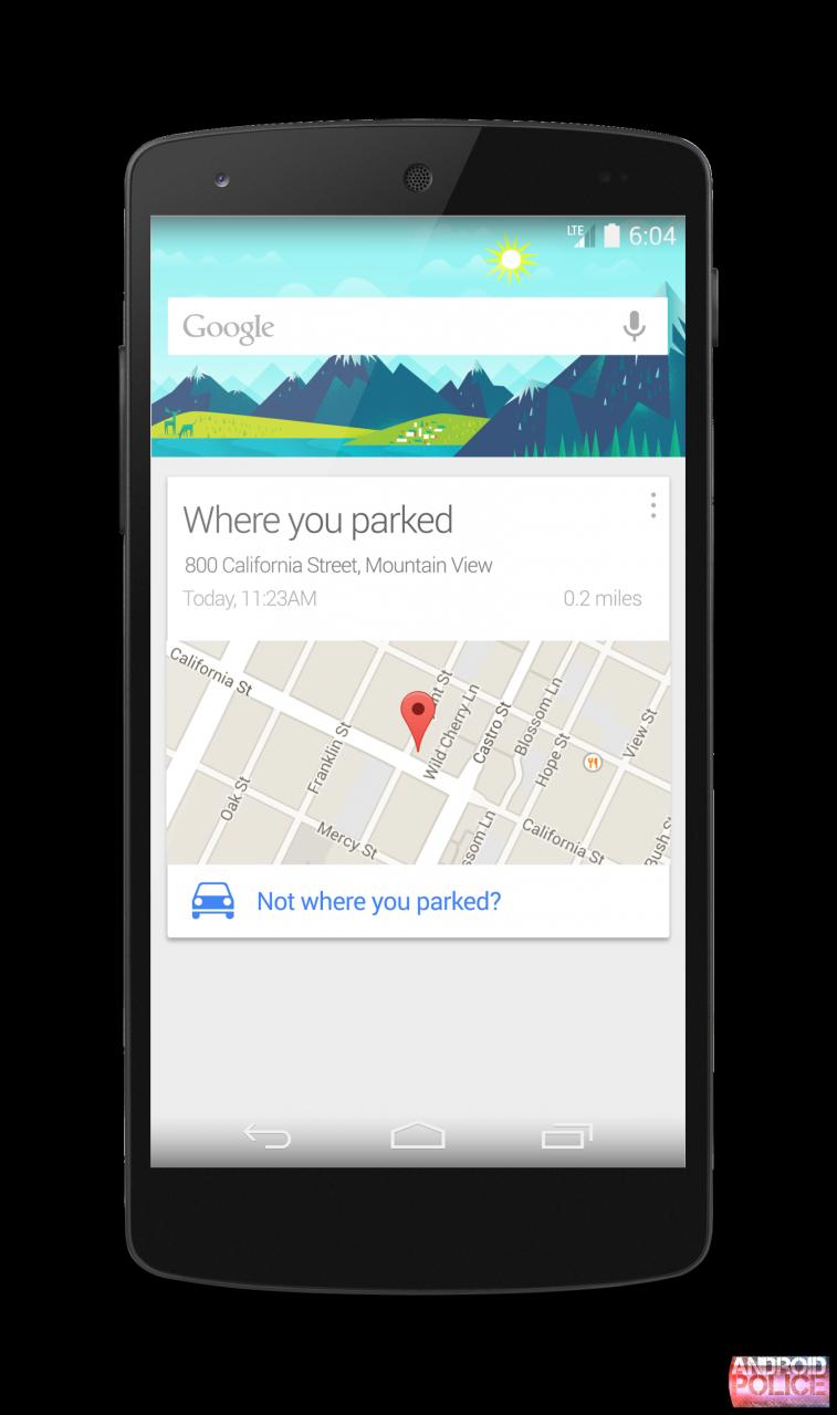 Google Now ci ricorderà dove abbiamo parcheggiato la nostra auto