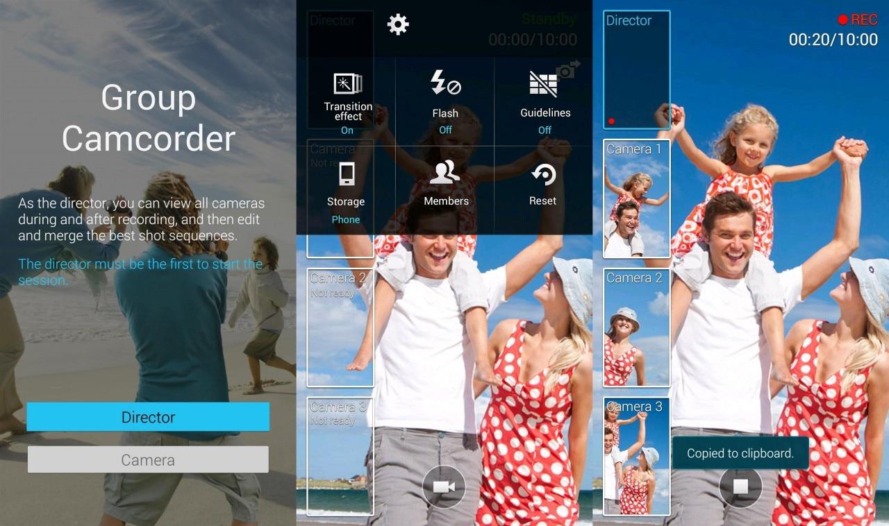 Samsung aggiorna Group Play abilitando Group Camcorder su Galaxy S5 (download apk)