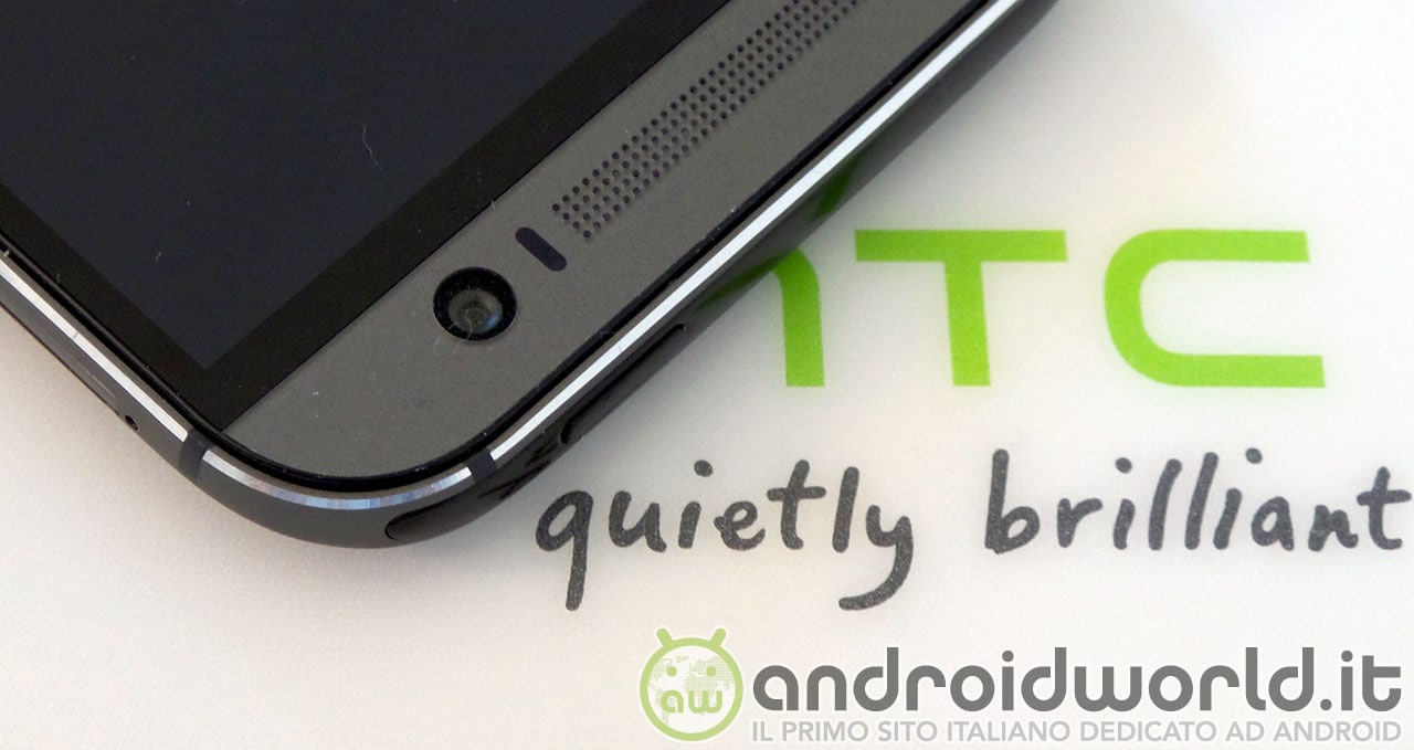 HTC One M8 power on