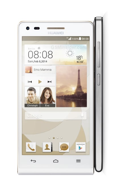 Huawei Ascend P7 mini render