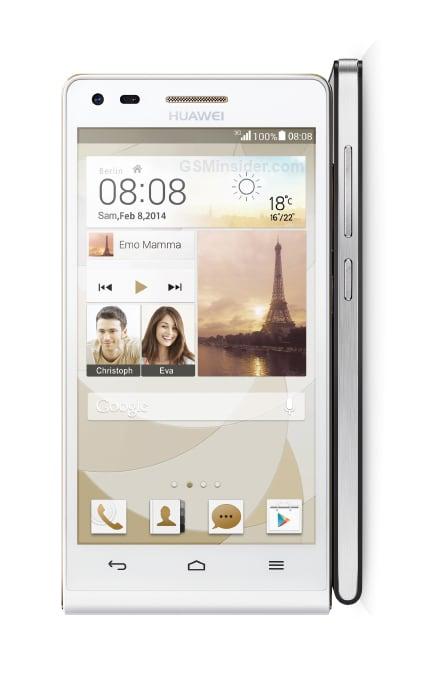 Huawei Ascend P7 mini render