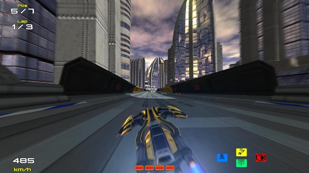 Hyperdrive 3D: un interessante gioco di corse futuristico in arrivo su Android (video)
