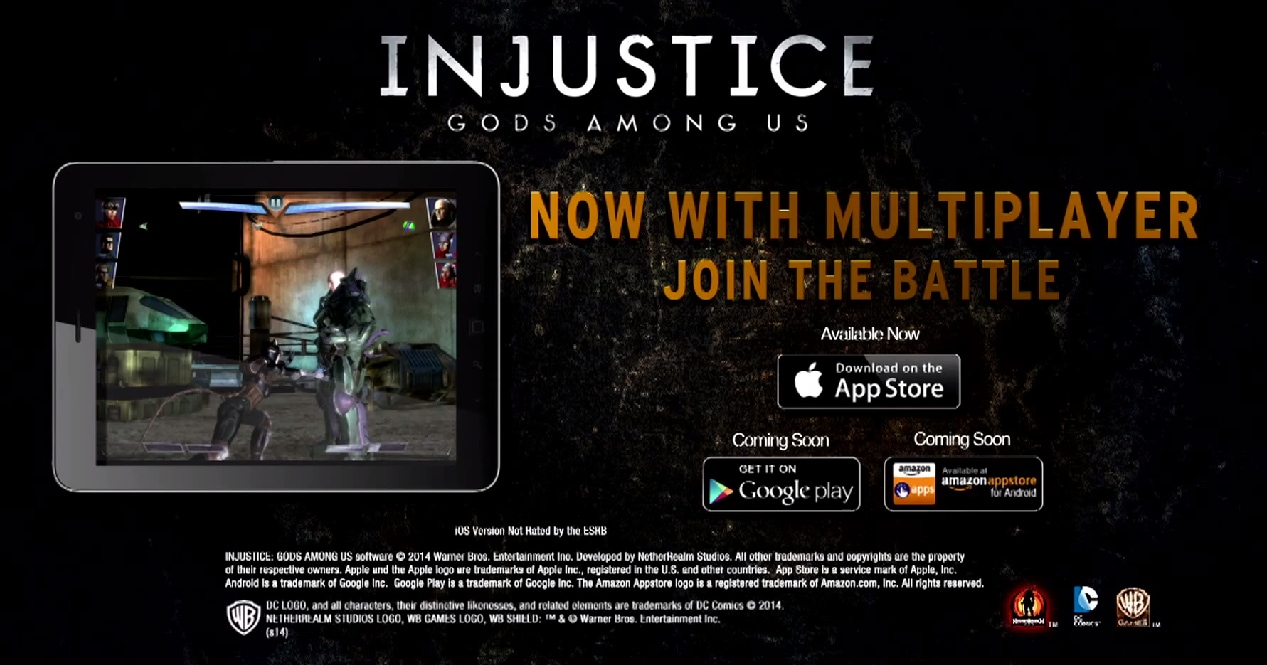 Injustice Gods Among Us Multiplayer