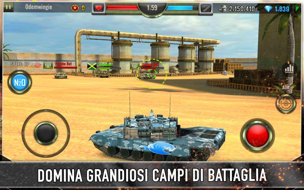 Iron Force: il nuovo free-to-play di Chillingo in stile World of Tanks (foto e video)