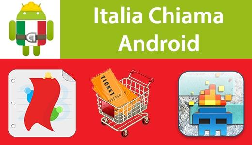 Italia Chiama Android: eDiary, AllYouCanTicket, Freeze & Run