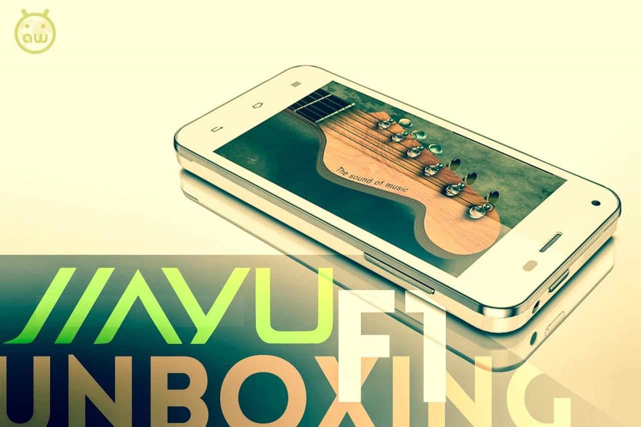 Jiayu F1 unboxing