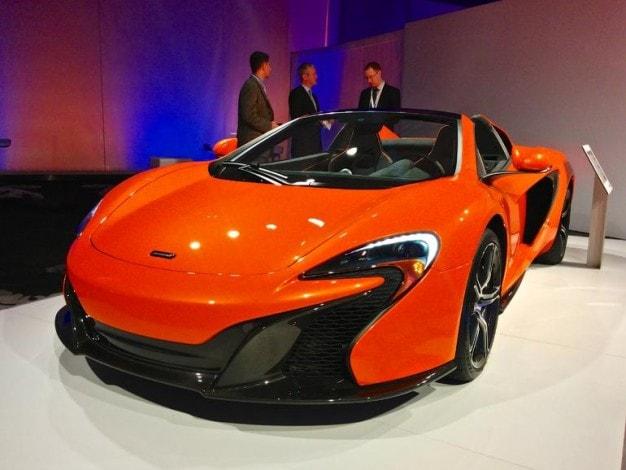 McLaren 650S Android