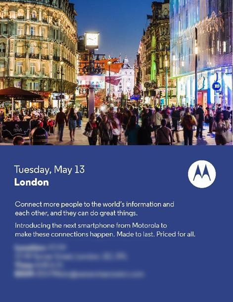 Motorola evento