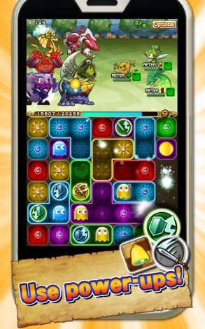 PAC-MAN MONSTERS Android Sample (1)