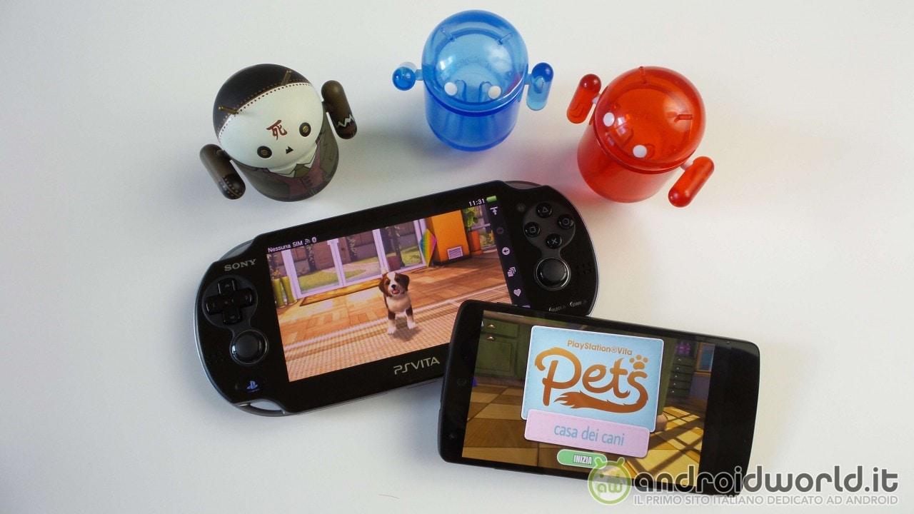 PS Vita Pets: Sony pubblica sul Play Store la prima demo di un gioco per PS Vita (foto e video)