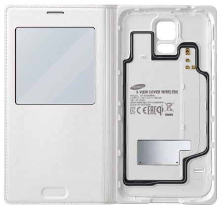 Samsung Galaxy S5 cover wireless