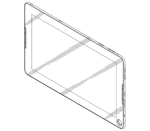 Samsung tablet buco