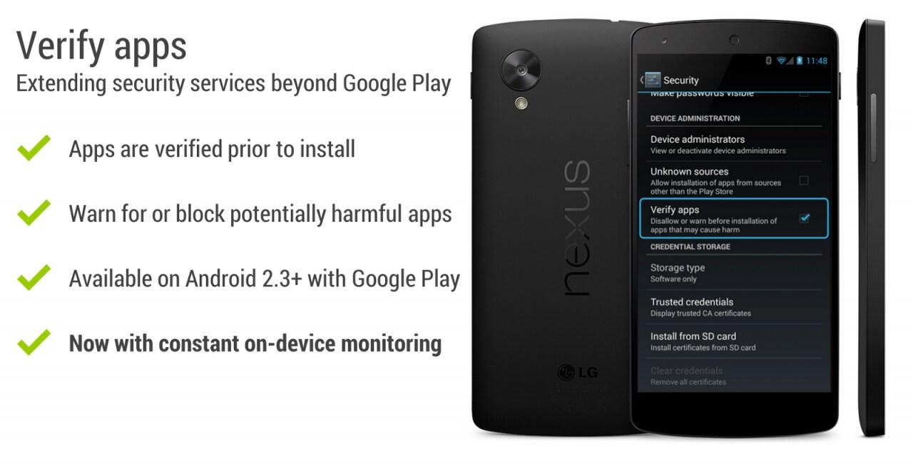 Google annuncia ufficialmente lo scanner per malware persistente su Android