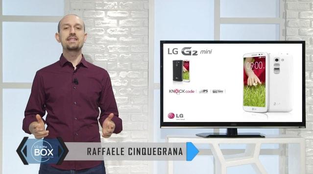 LG G2 mini presentato da Raffaele Cinquegrana (video)