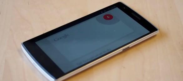 OnePlus One attivazione vocale
