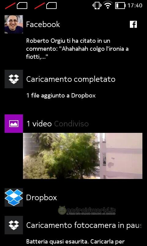 Screenshot Nokia X Fastlane
