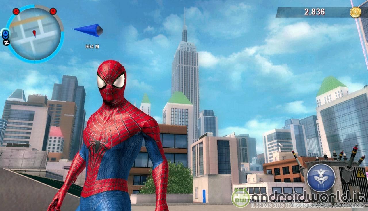 The Amazing Spider-Man 2 di Gameloft scontato a 0,89€