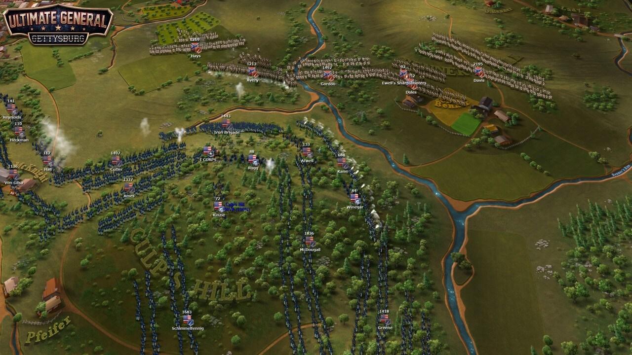 Ultimate General: Gettysburg, un nuovo strategico in arrivo prossimamente su tablet Android (video)