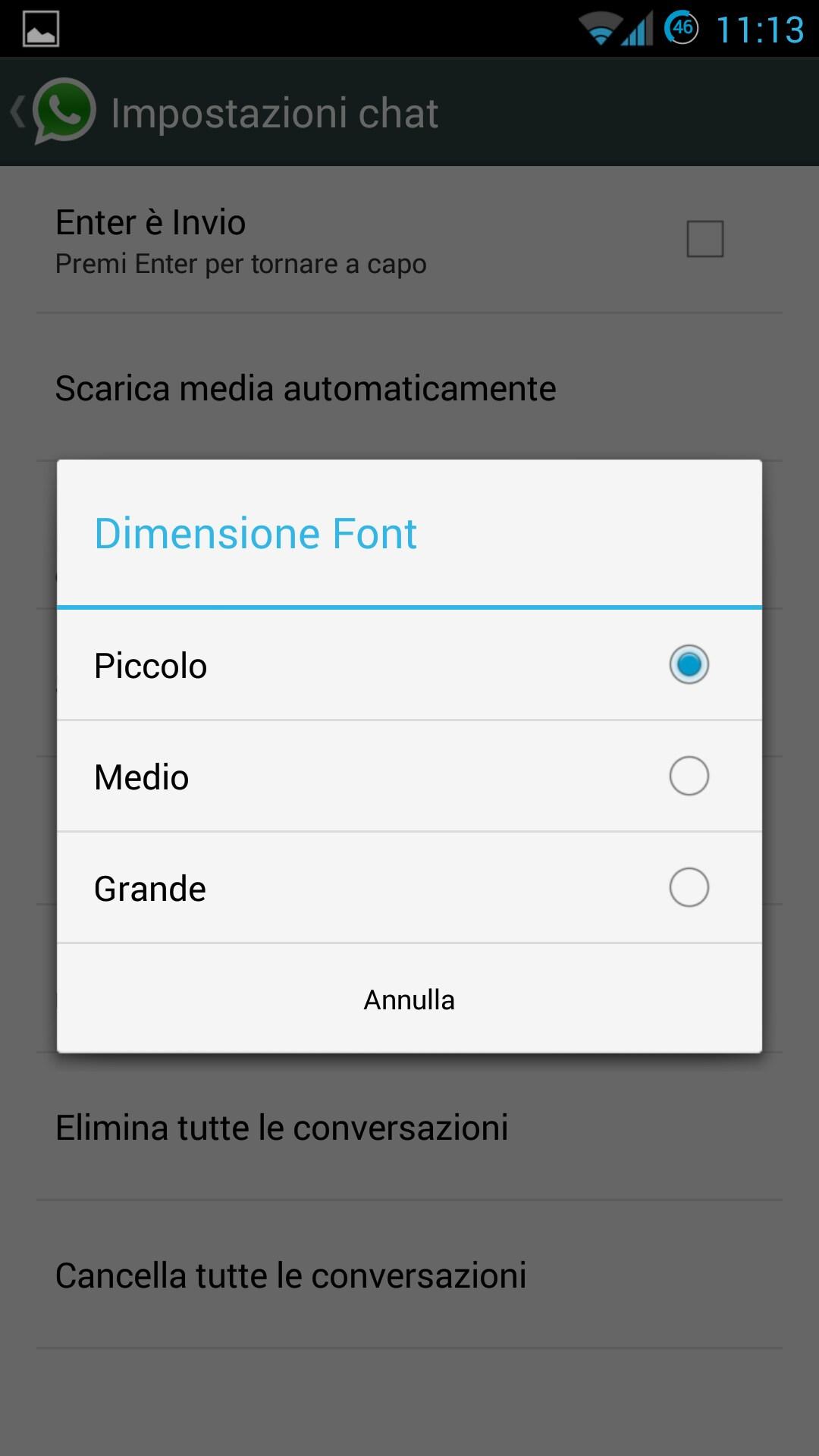 Come Cambiare Sfondo E Dimensione Dei Font Di Whatsapp