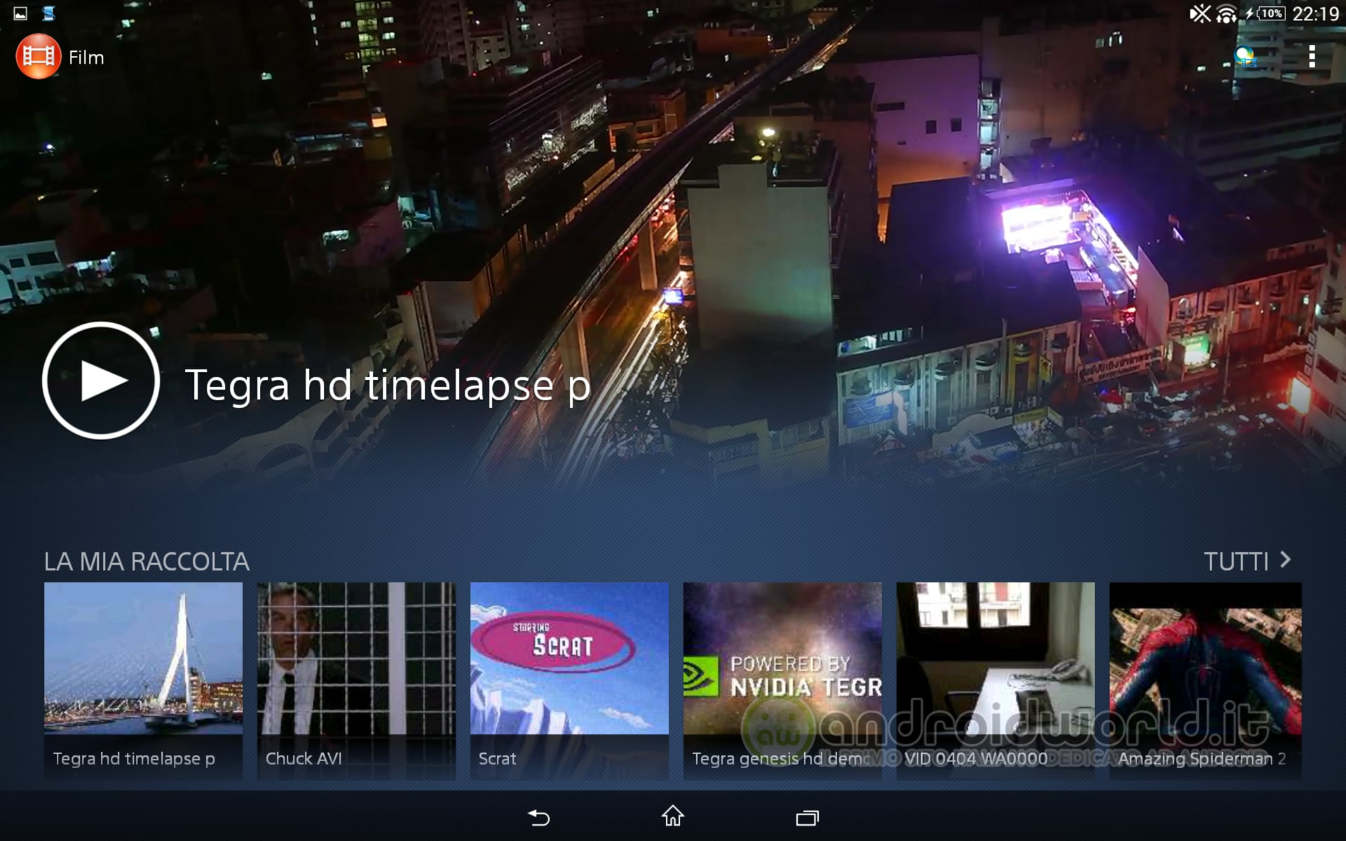 Xperia Z2 Tablet Video