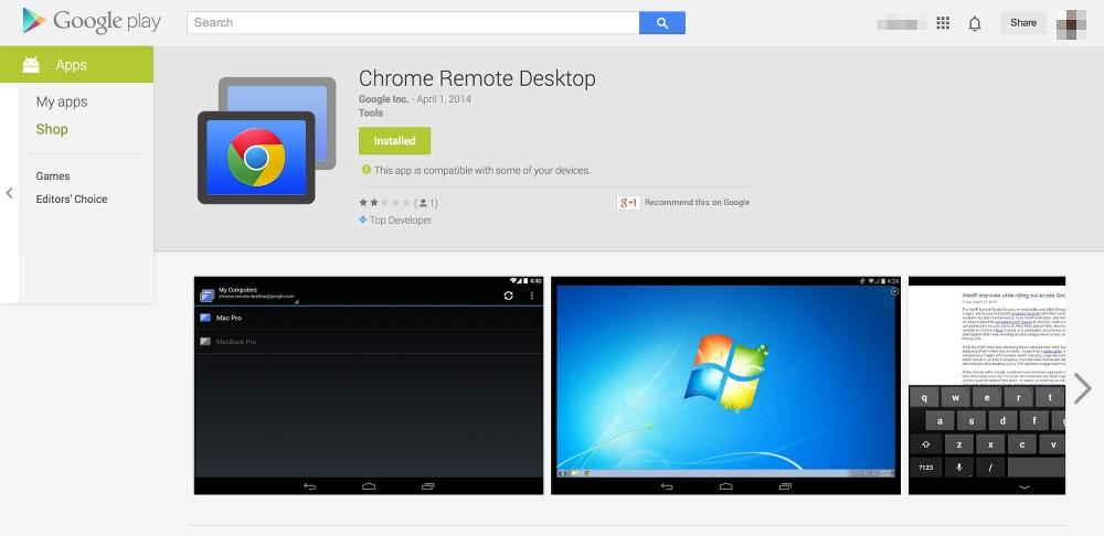 Chrome Remote Desktop per Android arriva in beta privata (foto)