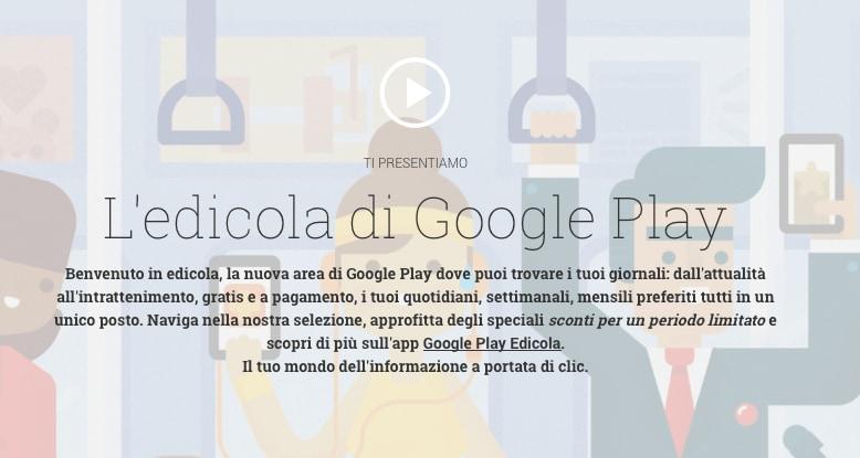 Nuovo aggiornamento di Google Play Edicola, ancor più Material Design (download apk)