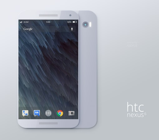 htc nexus 6 render