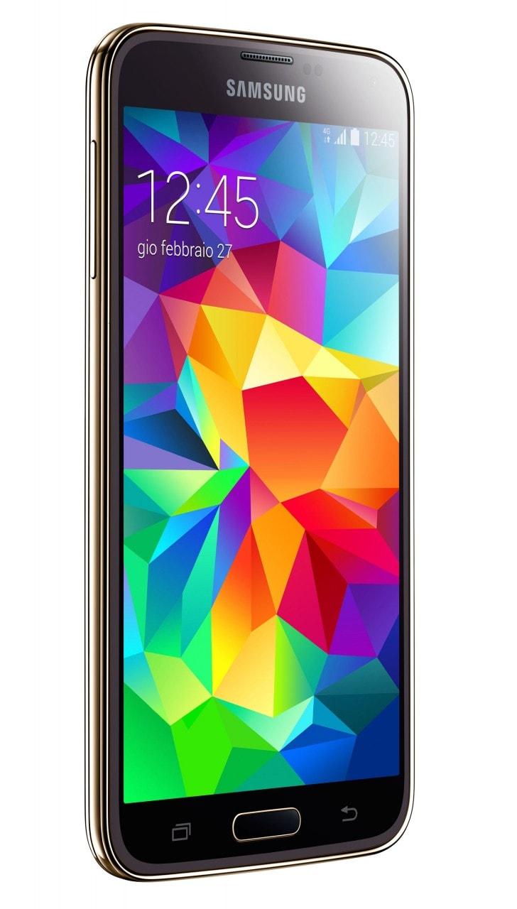 Samsung Galaxy S5 Copper Gold in esclusiva Vodafone