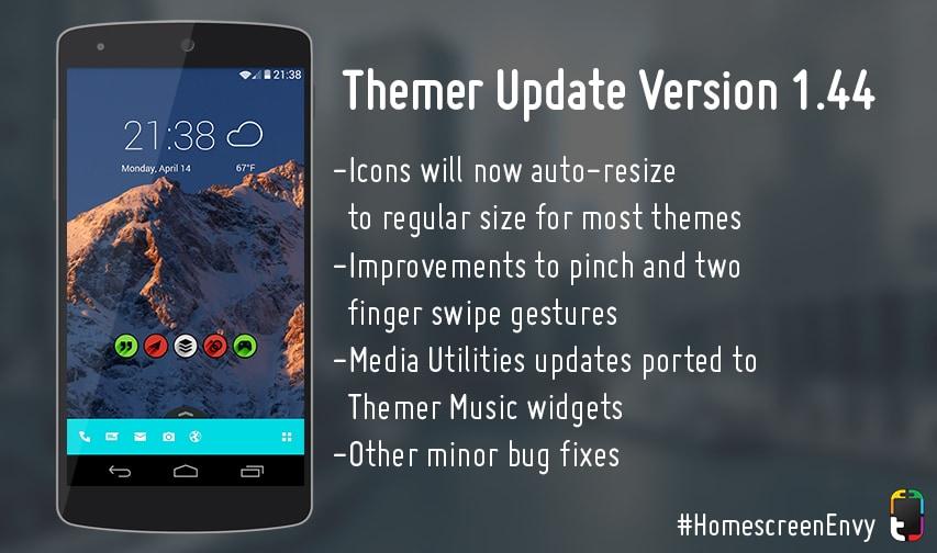 Themer beta si aggiorna con vari miglioramenti