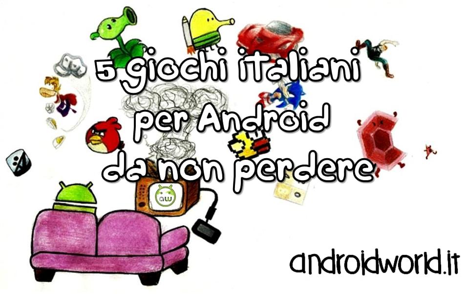 5 giochi italiani