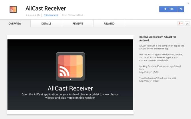 AllCast Receiver: trasformare ogni dispositivo Android in un Chromecast