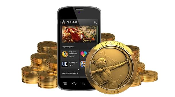 Amazon Coins Promozione