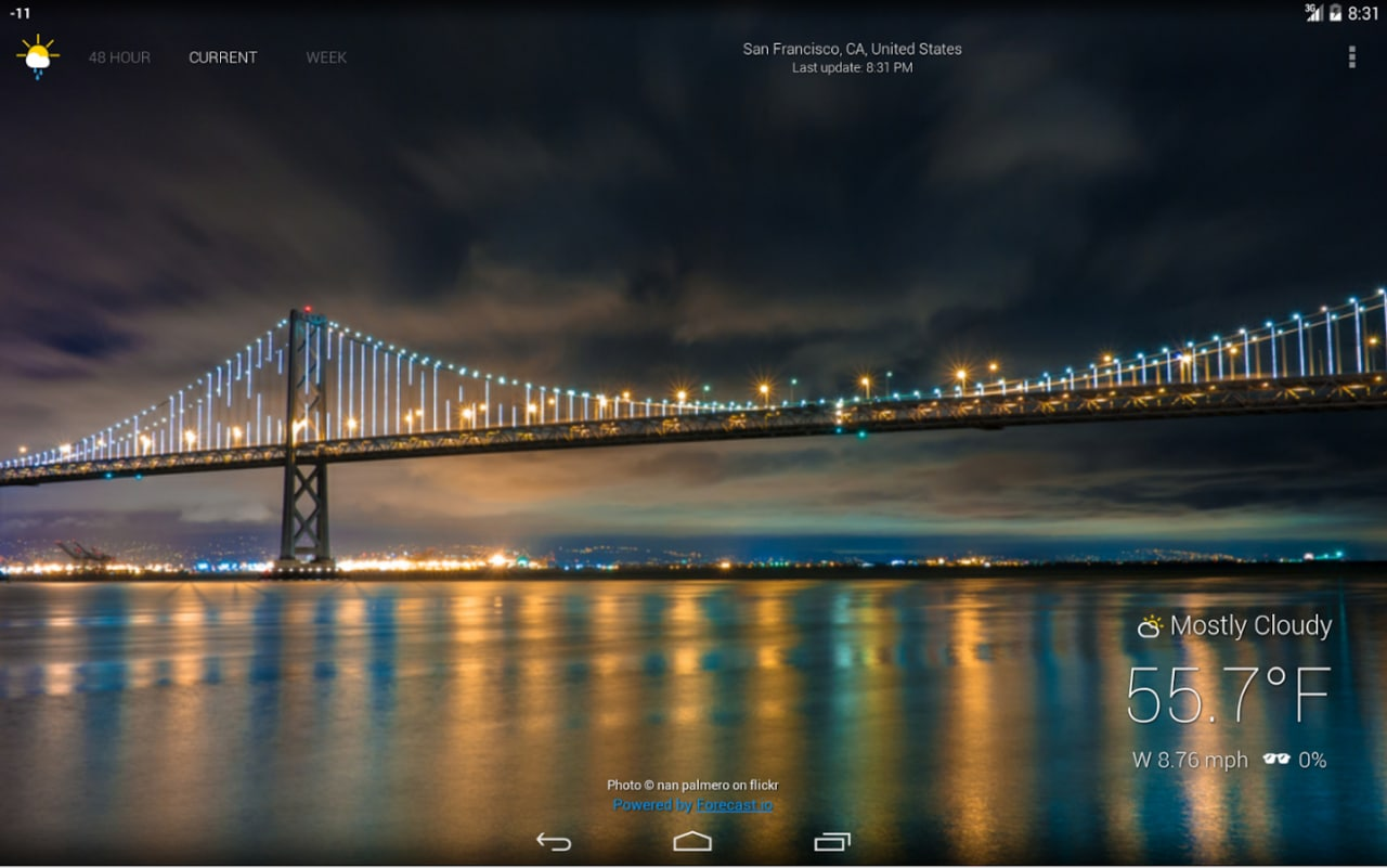 Atmospheric, l'app per il meteo con foto d'autore (foto e video)