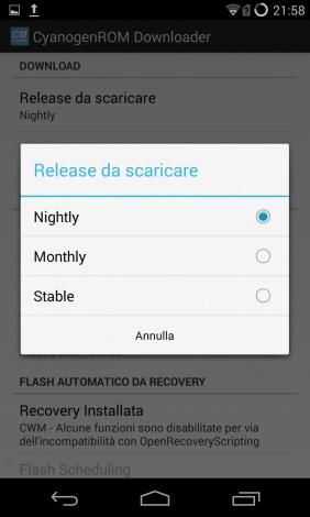 Cyanogen ROM Downloader 2