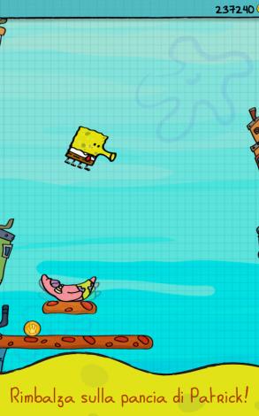 Doodle Jump Spongebob Android (5)