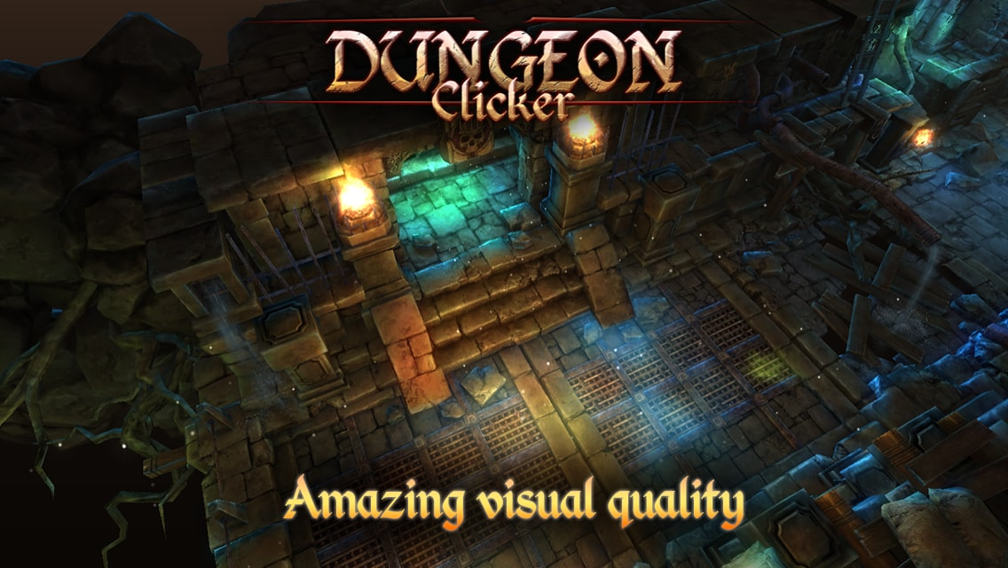 Dungeon Clicker  Header