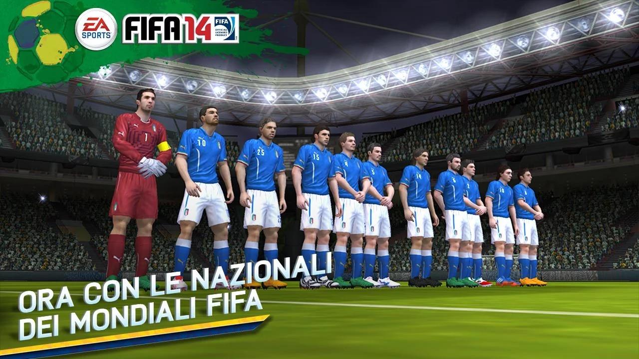 FIFA 14 per Android si aggiorna per i Mondiali di calcio Brasile 2014 (foto)