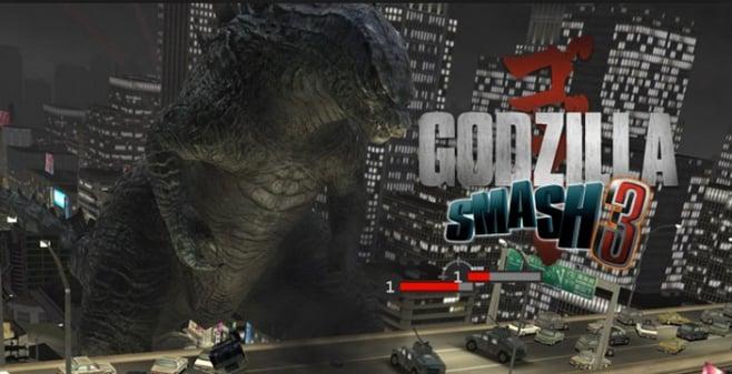 Godzilla Smash 3 Titolo