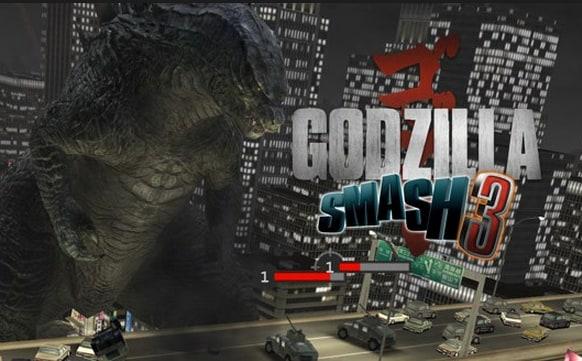 Godzilla Smash 3 Titolo - Mini