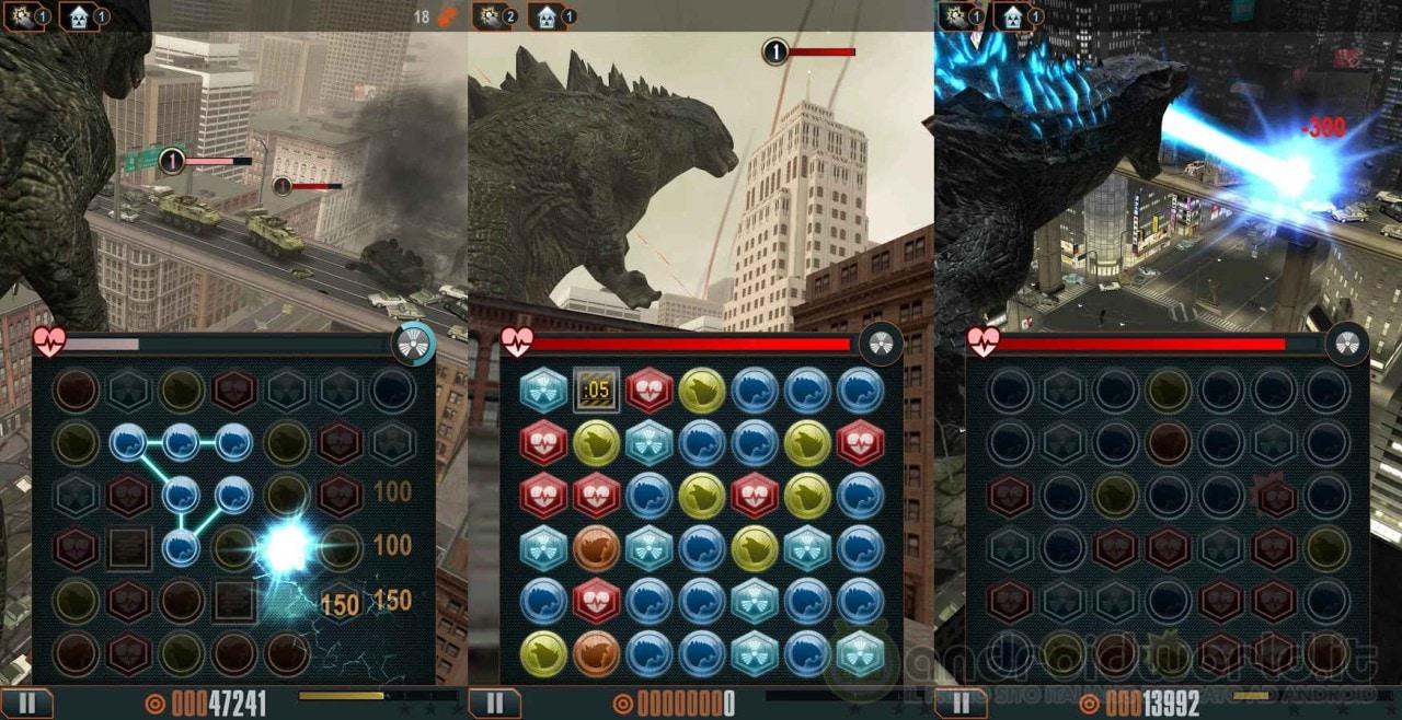 Godzilla Smash 3, il puzzle game ufficiale del nuovo film di Godzilla (foto e video)