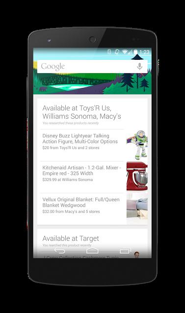 Google Now avviso