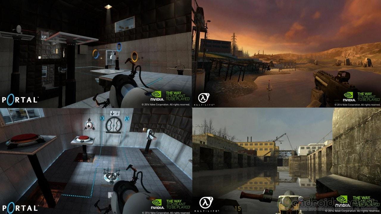 Half-Life 2 Portal NVIDIA Shield