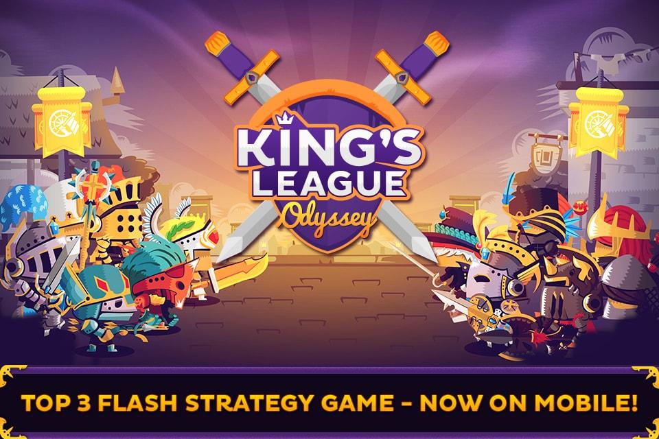 King's League Odyssey, il celebre flash game arriva anche su Android (foto e video)