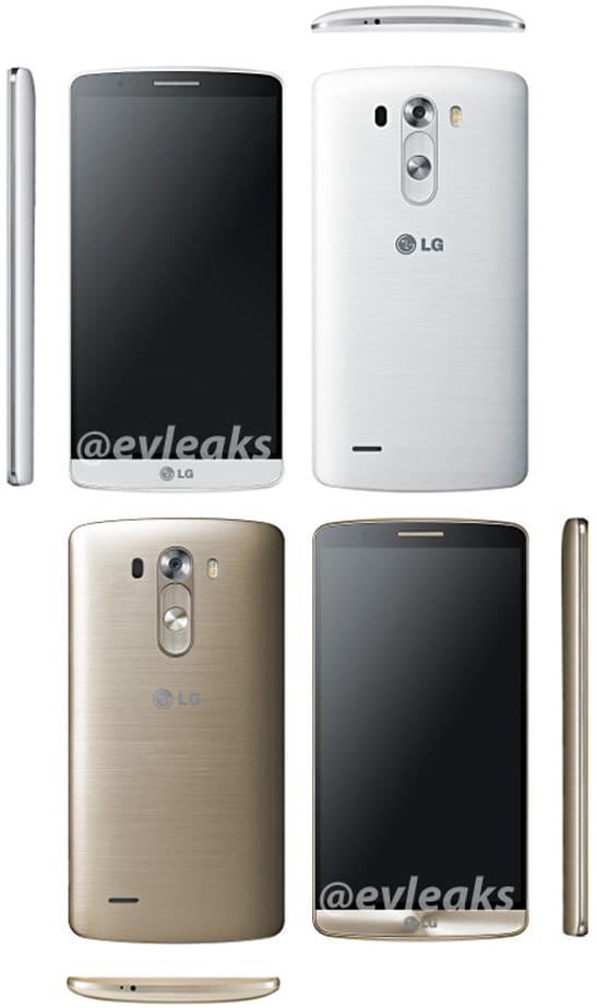 LG G3 bianco oro