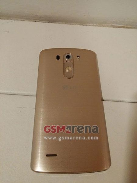 LG G3 gold back
